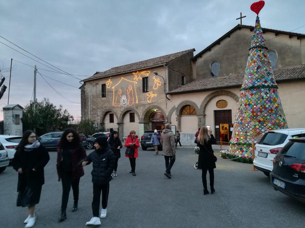 Visita alla mostra dei presepi a Palestrina