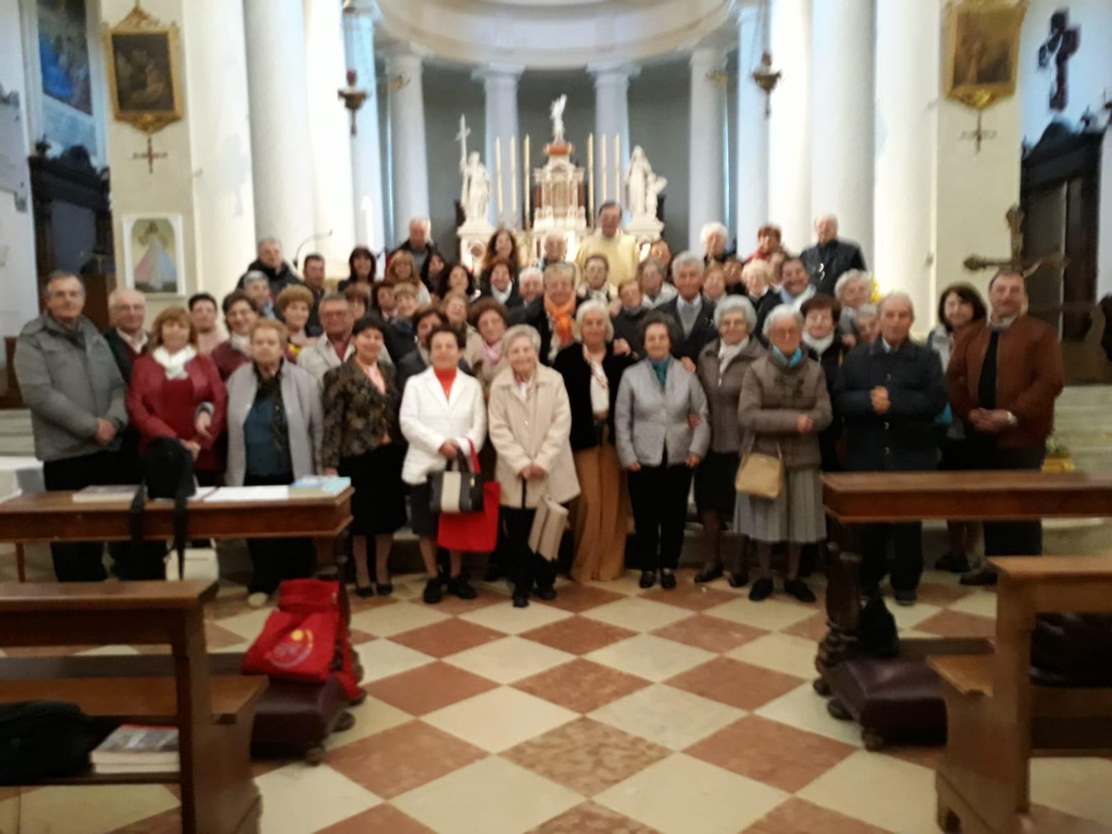 L'incontro zonale a Sant'Elena - PD il 28-4-19
