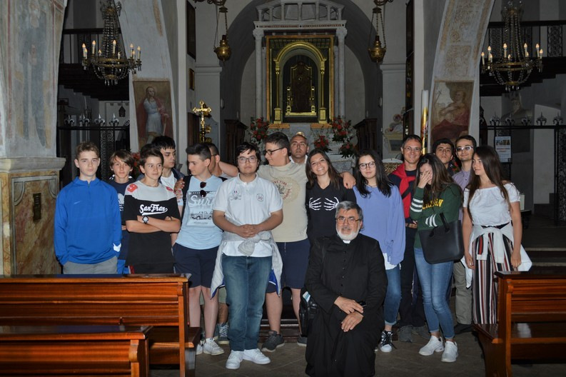 Foto di gruppo alla Mentorella