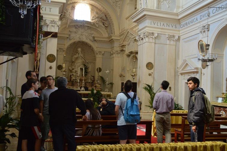 Visita turistica a S. Maria Maddalena di Capranica Prenestina