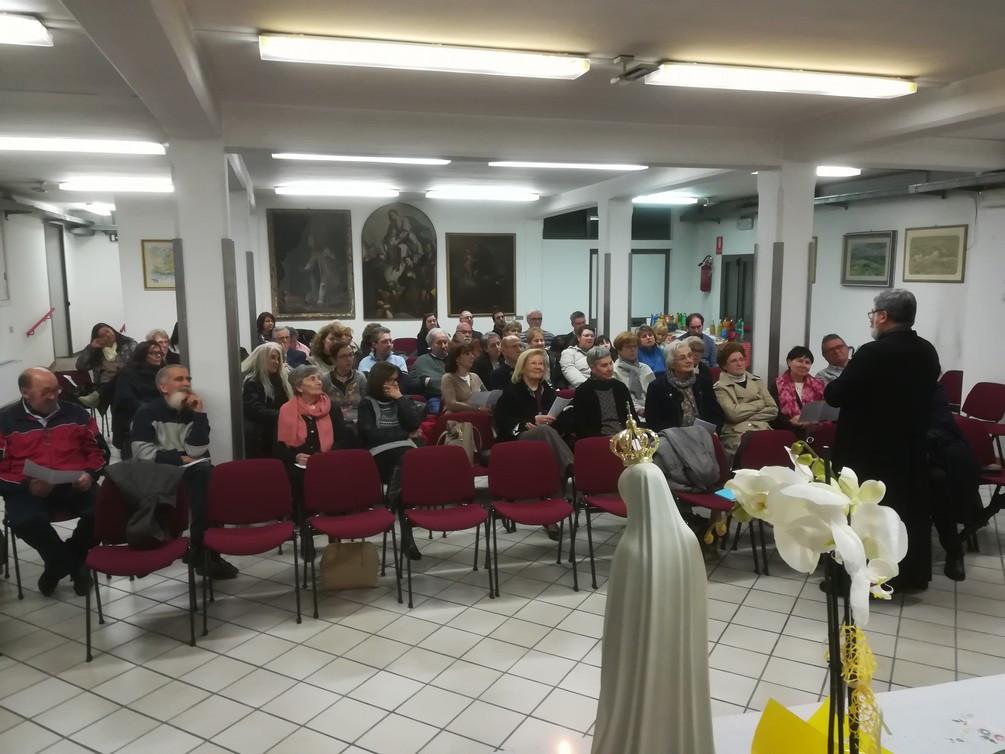 L'incontro a Madonna Pellegrina di Padova il 5-5-19