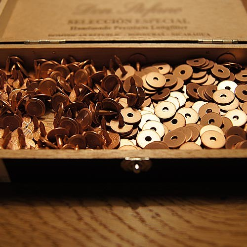 DSIDE PRODUCTS COPPER RIVETS