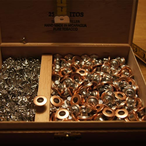 DSIDE PRODUCTS COPPER BUTTONS