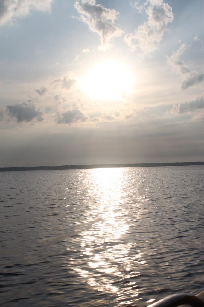 восход на Бурейском море