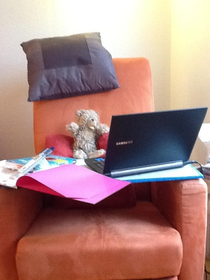 softboard zum Sessel-Mind-mapping