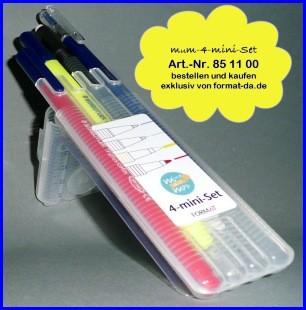 Mindundmap-4-Mini-Stifte-Set