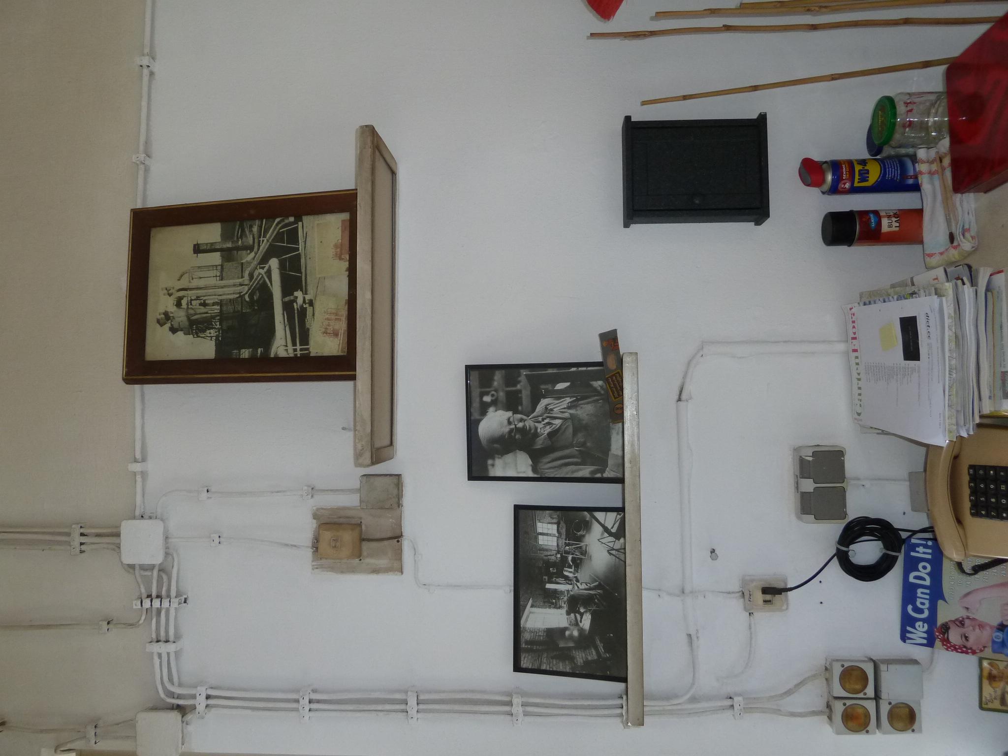 Meister-Dienst-Werkstatt-Mini-Museum