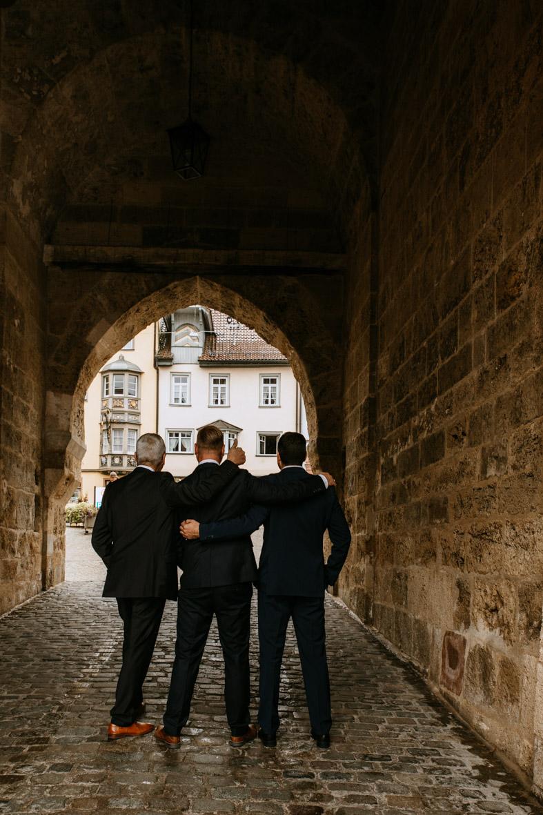 Trauzeugen, Fotoshooting Hochzeit