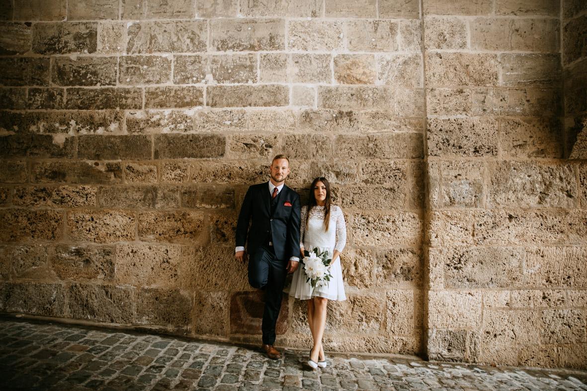 Brautpaarshooting am Schwarzen Tor in Rottweil