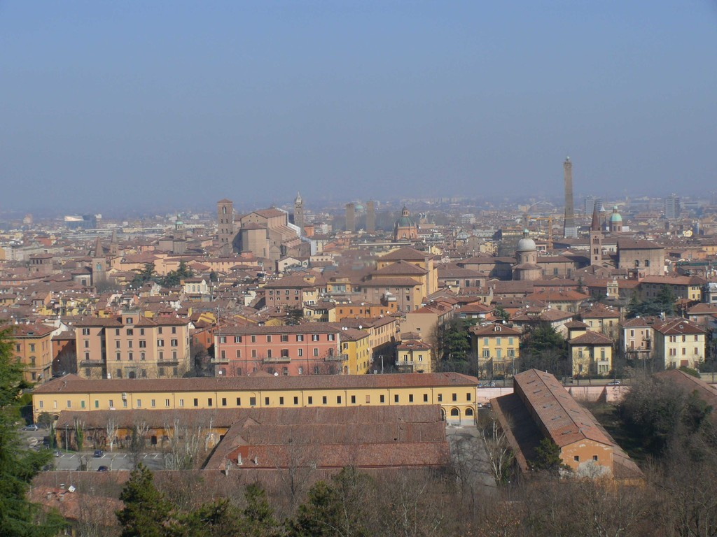 BOLOGNA VISTA DA SAN MICHELE IN BOSCO