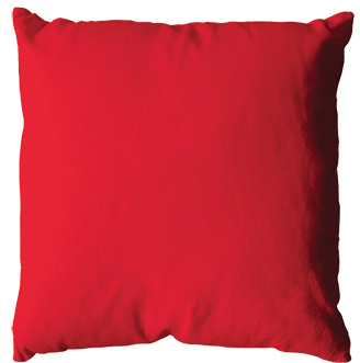 Coussin 60x60 -Rouge-