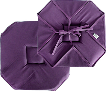 Galette chaise -Violet-
