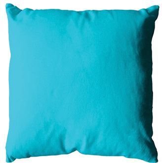 Coussin 40x40 -Turquoise-