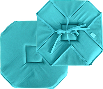 Galette chaise -Turquoise-