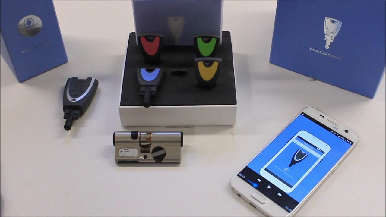 Schlie technik zutrittskontrollen tresore zylinder for Winkhaus blue compact test