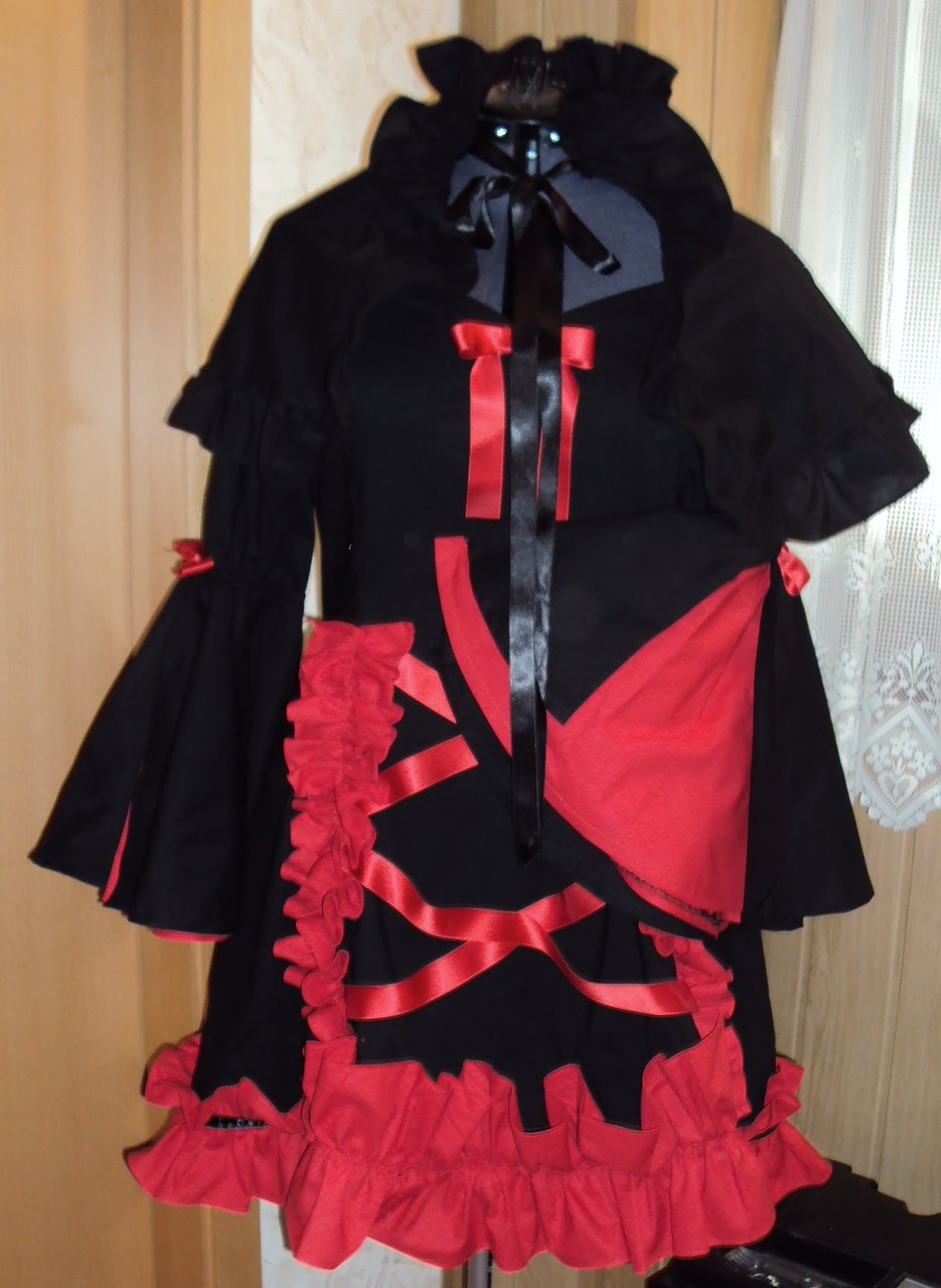 Kleid+Cape nach Wunsch