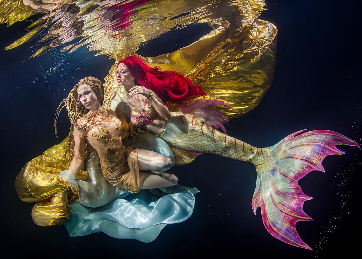 (C) Fotograf: Konstantin Killer, Model: Katrin Gray, Model: Delia, Unterwasser Shooting