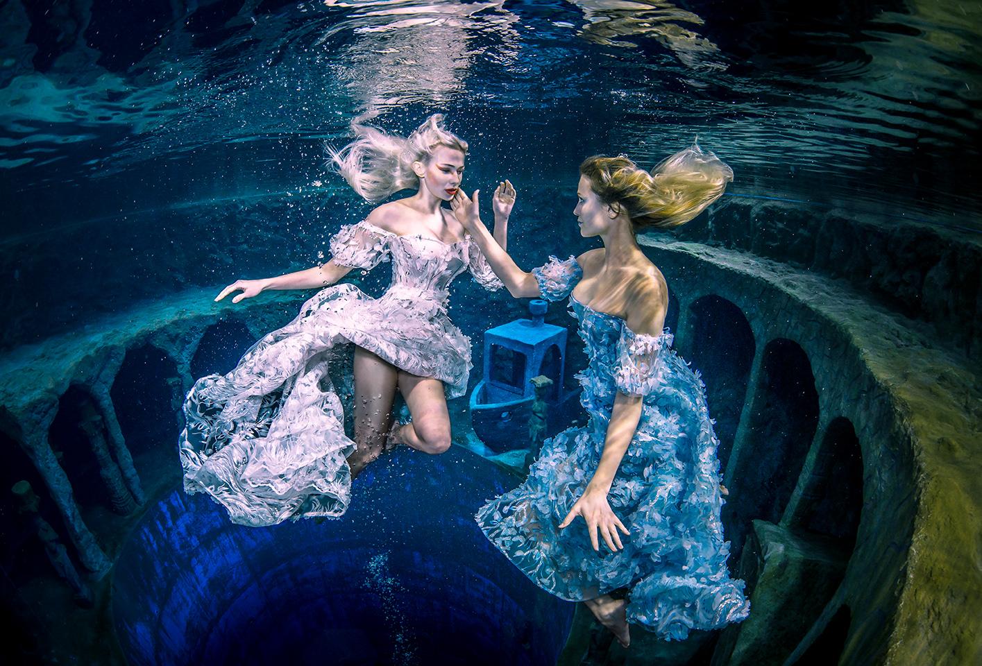 (C) Fotograf: Konstantin Killer, Model: Delia, Unterwasser Shooting