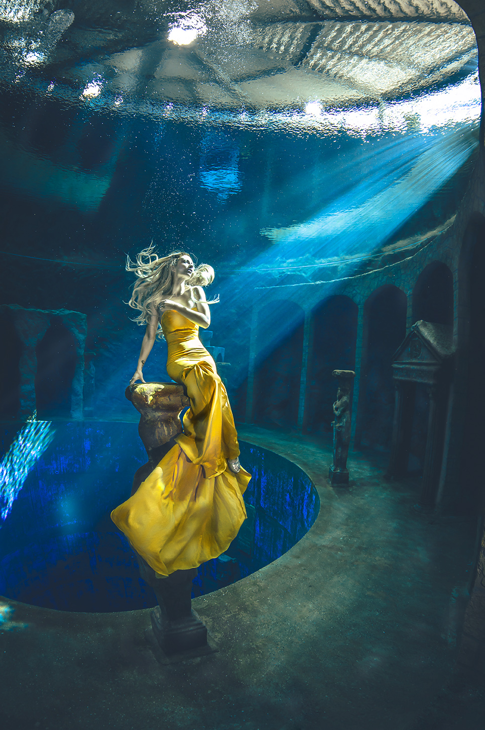 (C) Fotograf: Konstantin Killer, Model: Katrin Gray, Unterwasser Shooting