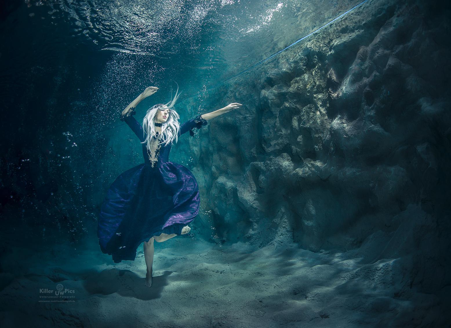 (C) Fotograf: Konstantin Killer, Model: Karina, Unterwasser Shooting