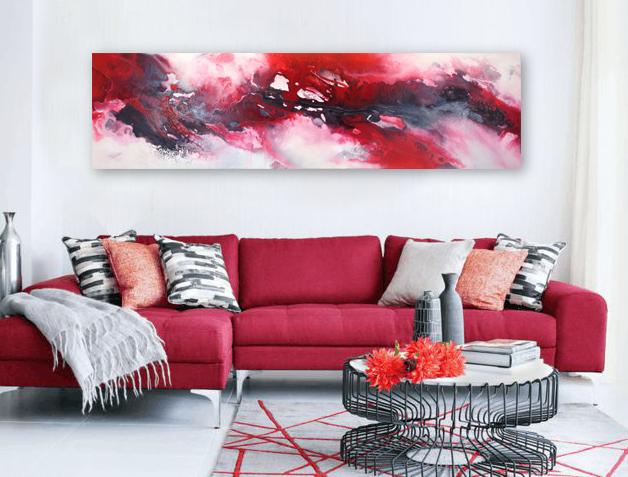 """""""loving experience""""  Größe 50 x 180 x 4 cm"""
