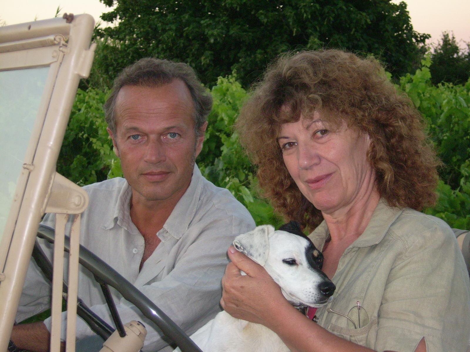Avec Laurent Malet (et Paulo), Ramatuelle 2007