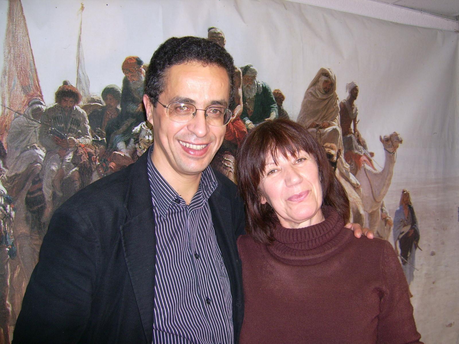 Avec Anouar Benmalek, Lombez 2007
