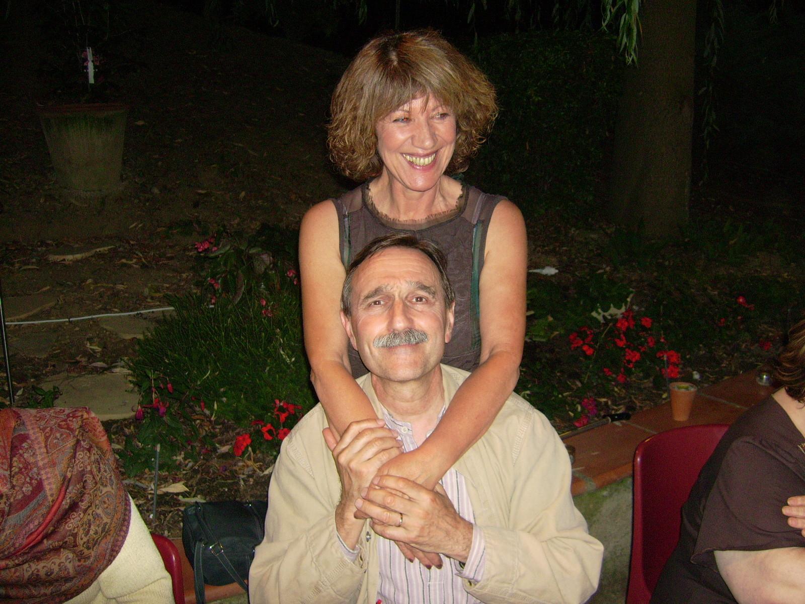 Avec Jean-Noel Blanc, 2007