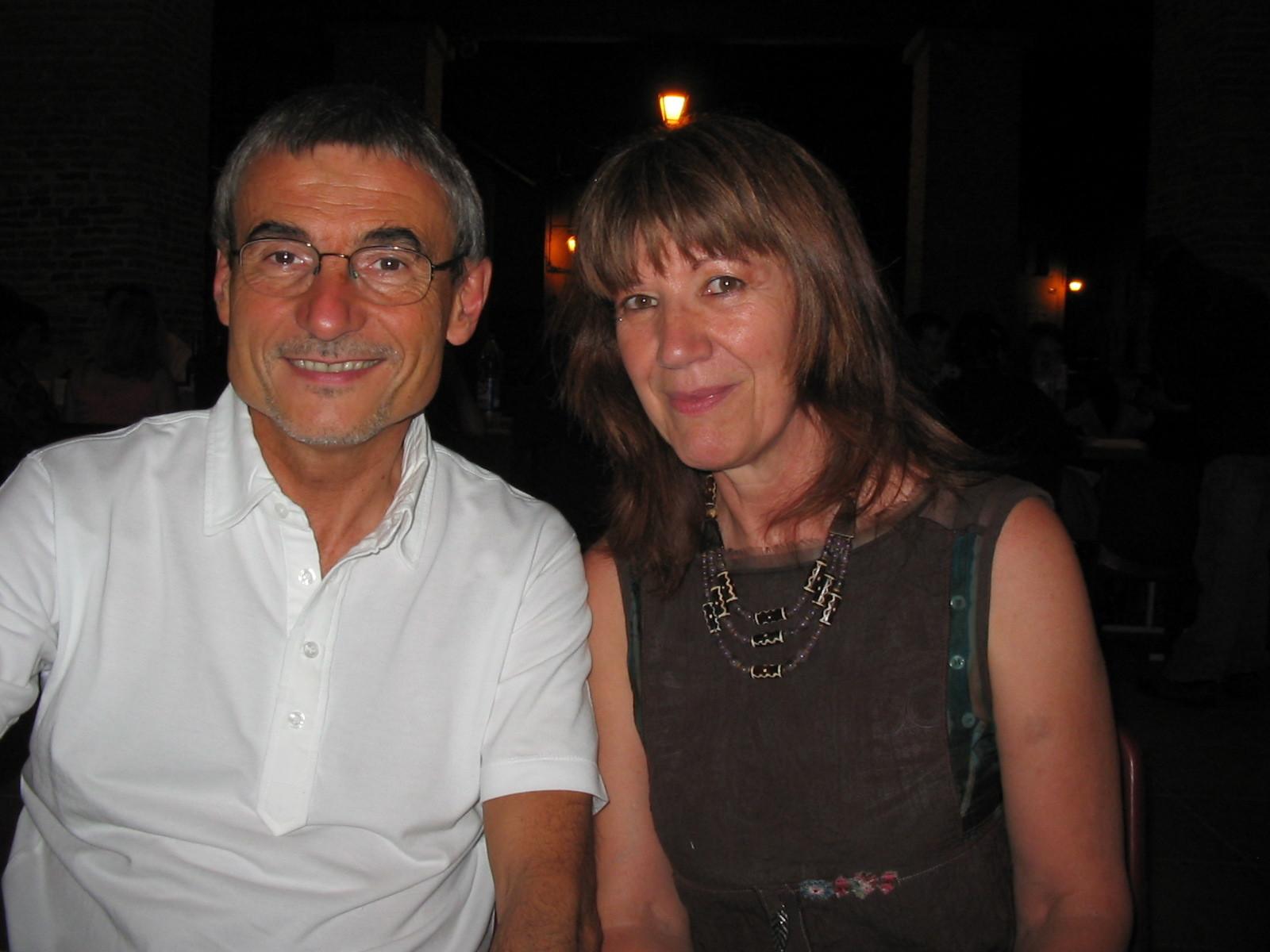 Avec Alain Absire, Lombez 2008