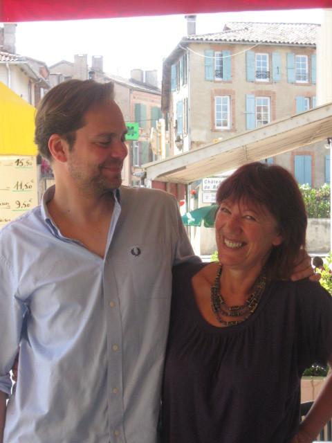 avec Stéphane Héaume, Lombez 2009