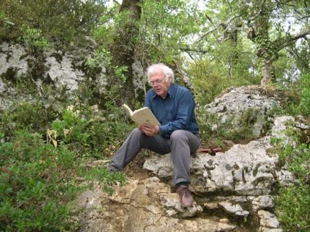 Gil Jouanard dans le sud de l'Ardèche