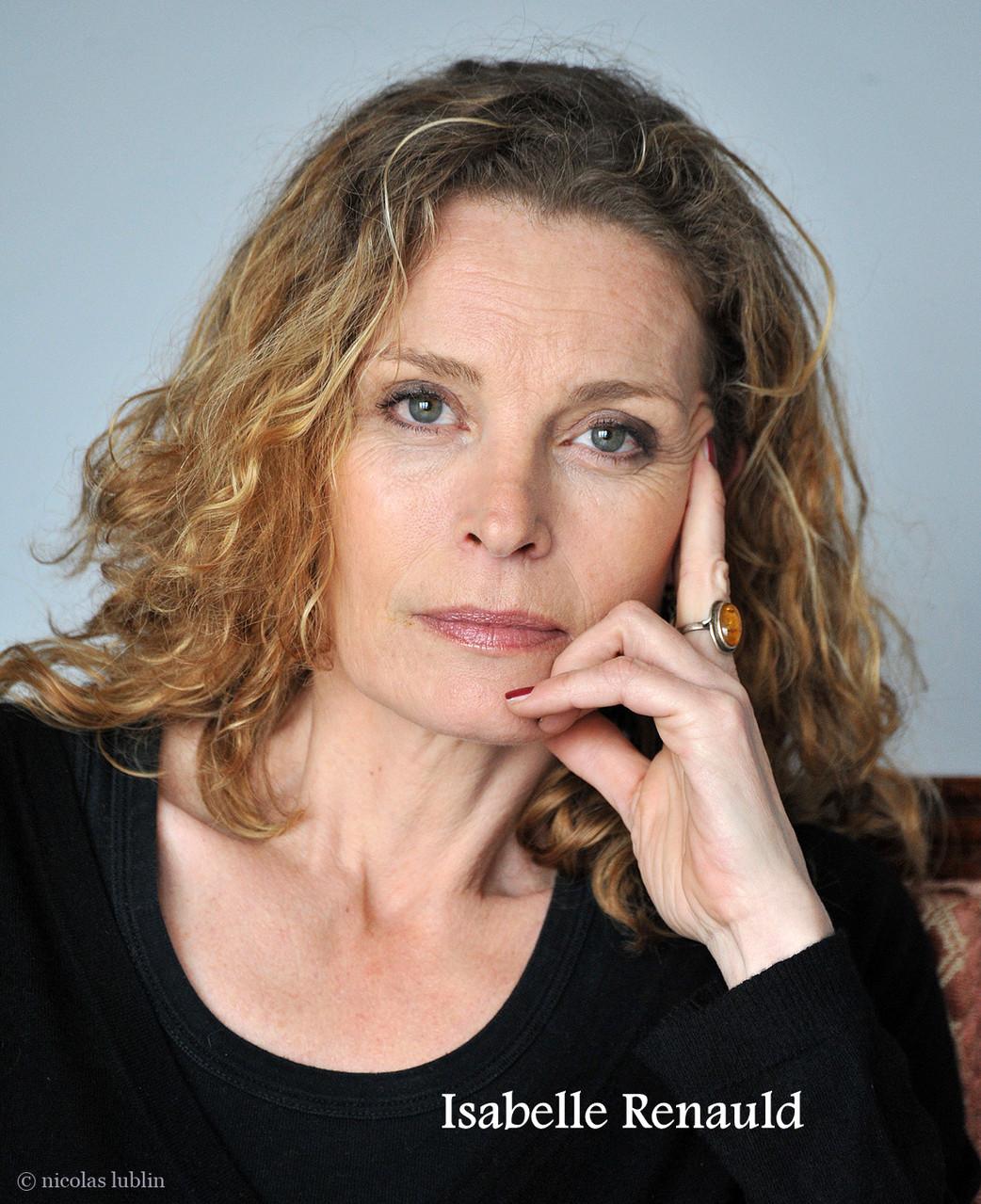 Isabelle Renauld, actrice à fleur de peau