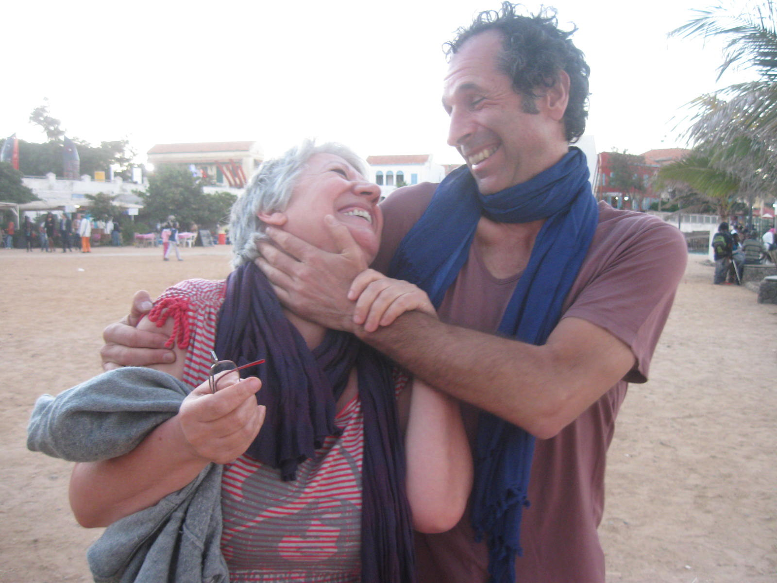 Avec Claude Magne, Senegal 2012
