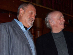 Claude Sauvage et Gilles Vigneault