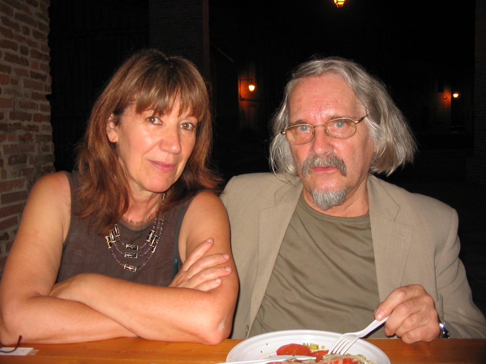 Avec Michel Host, Lombez 2008