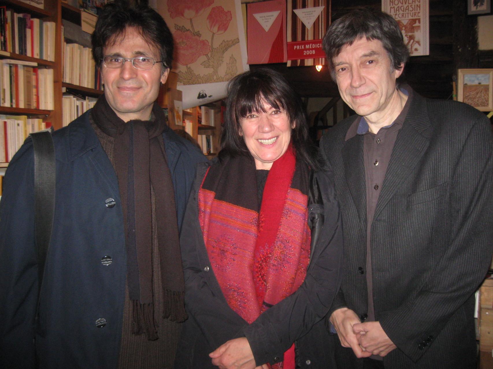 Avec Seyhmus Dagtekin et Alain Monnier, Sarrant 2010