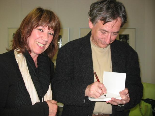 Avec Jean Rouaut, Lombez 2008