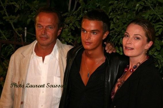 Laurent Malet, Théo Guespin et Isabelle Renauld
