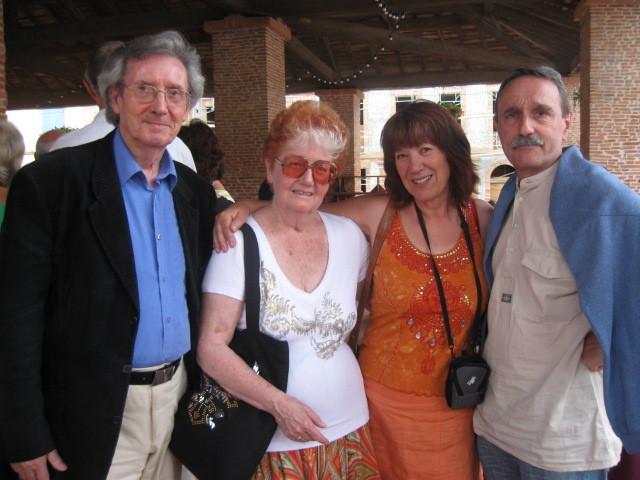 Lionel Rey, Chritiane Baroche et Jean-Noël Blanc, Lombez 2009