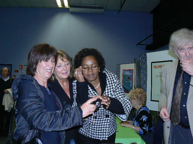 avec Marie Didier et Gisèle Pineau et Georges-Olivier Chateauraynaud Muret 2007