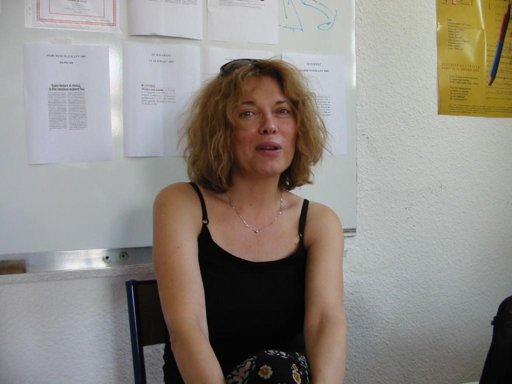 notre première rencontre à Lombez, juillet 2005