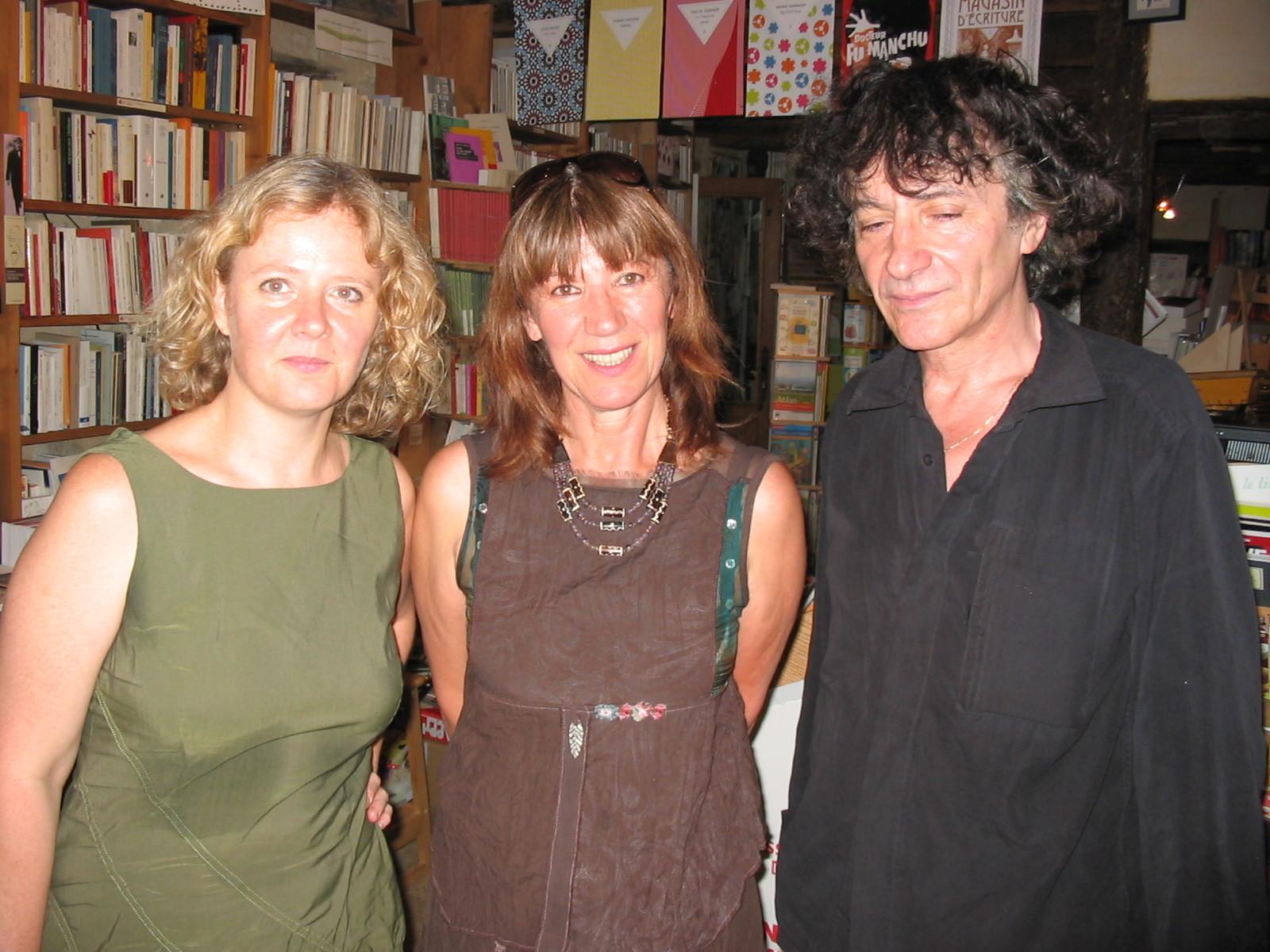Avec Laure Leroy et Hubert Haddad, Sarrabt 2008
