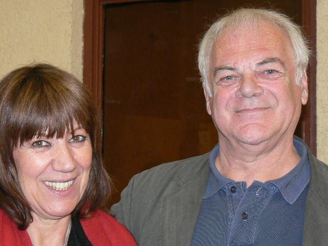 Avec Gil Jouanard,Lombez 2008