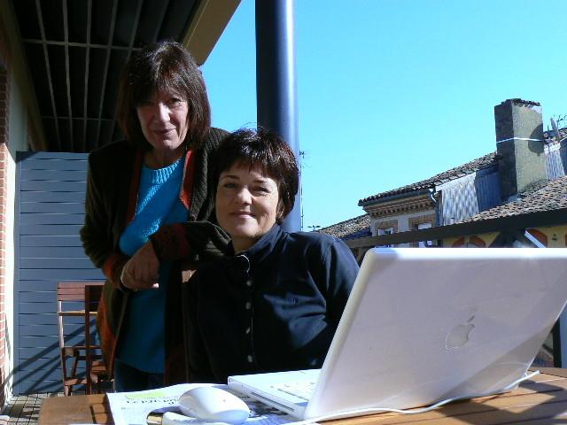 Avec Pascal Kramer, Lombez 2007