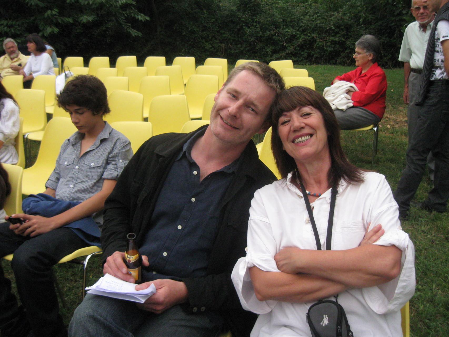 Avec David Fauquemberg, Muret 2010