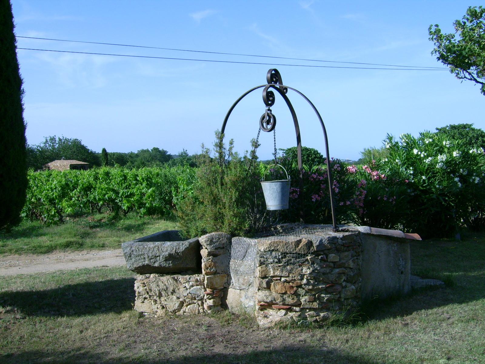 Le puits qui a inspiré le début du roman
