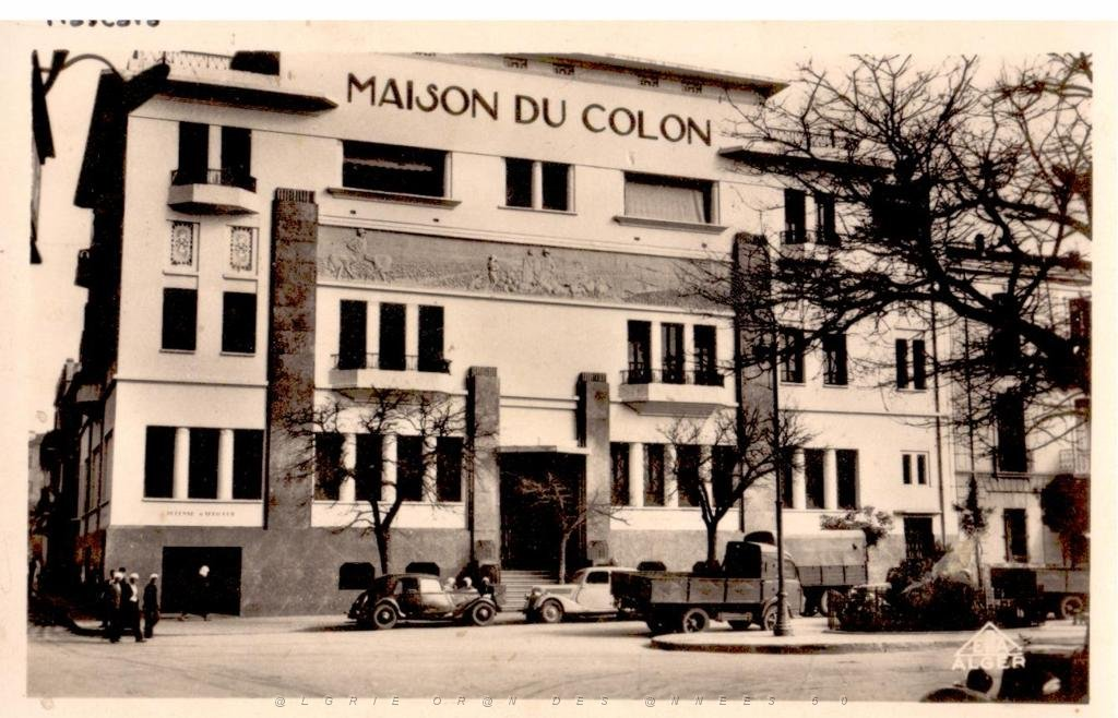La Maison du Colon, Mascara