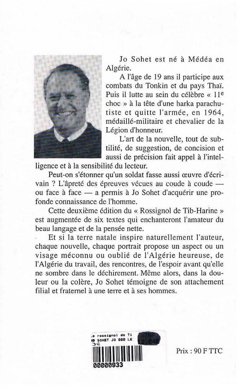 présentation du Rossignl de Tib-Harine