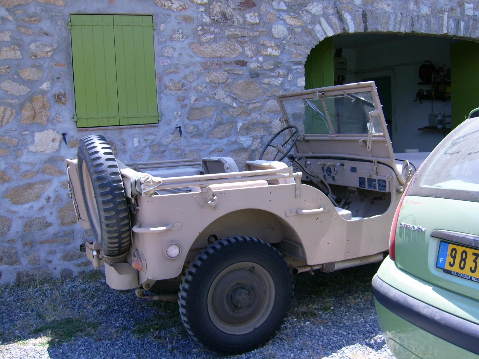 La jeep de Flo