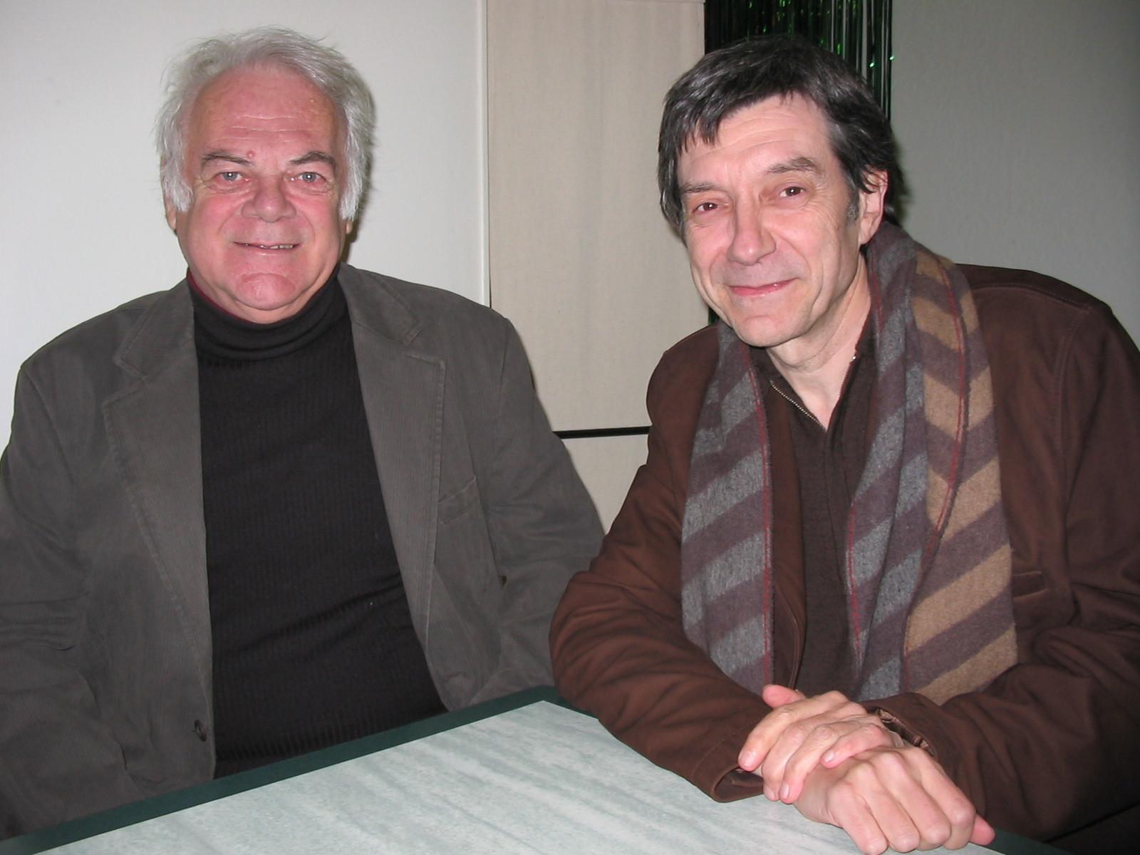"""Alain Monnier et Gil Jouanard, mes deux """"Chouchoux"""" (2008)"""